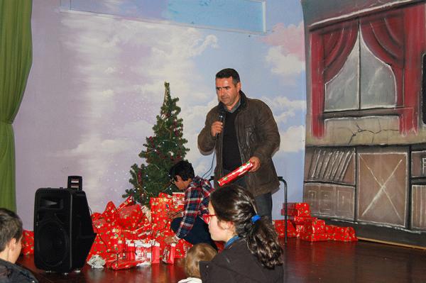 Festa de Natal 2015 - Entrega Presentes